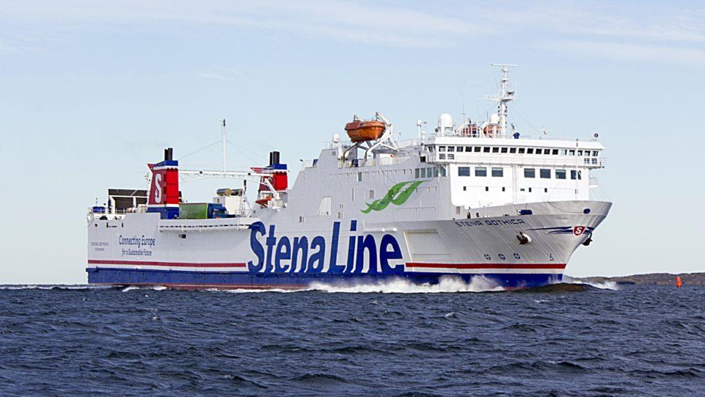 Stena Gothica - Ferje - Stena Line - Dansk register