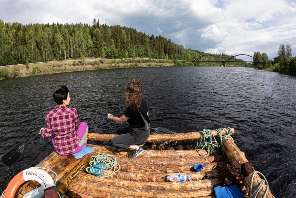 Flåteferd - Klarälven (som heter Trysilelva på norsk side ) - Värmland - Sverige