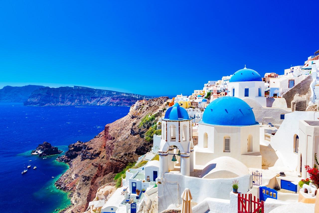 Santorini - Hellas - Øyer - Europeiske