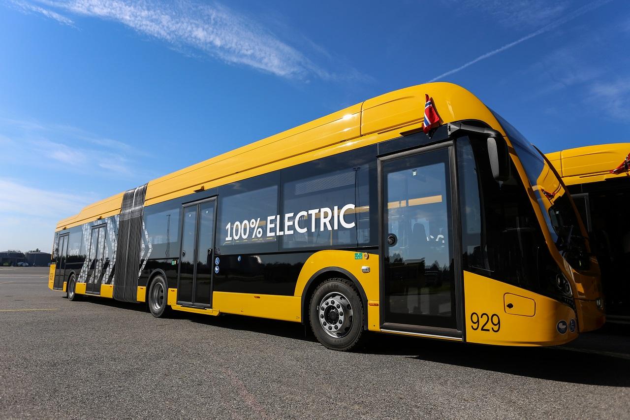 Elektrisk buss - Avinor - Oslo lufthavn - Gardermoen