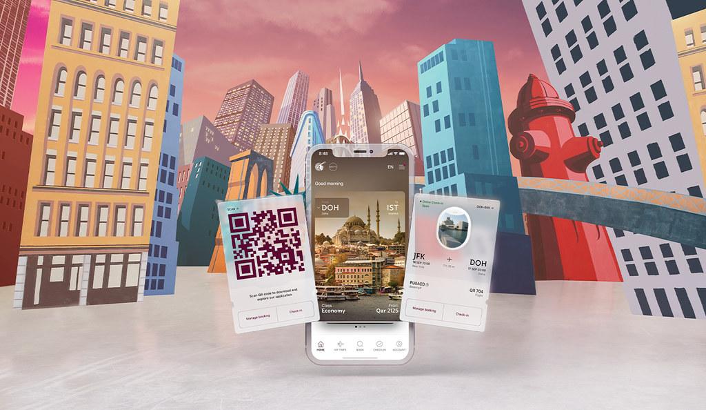 Qatar Airways - ny App - 2020