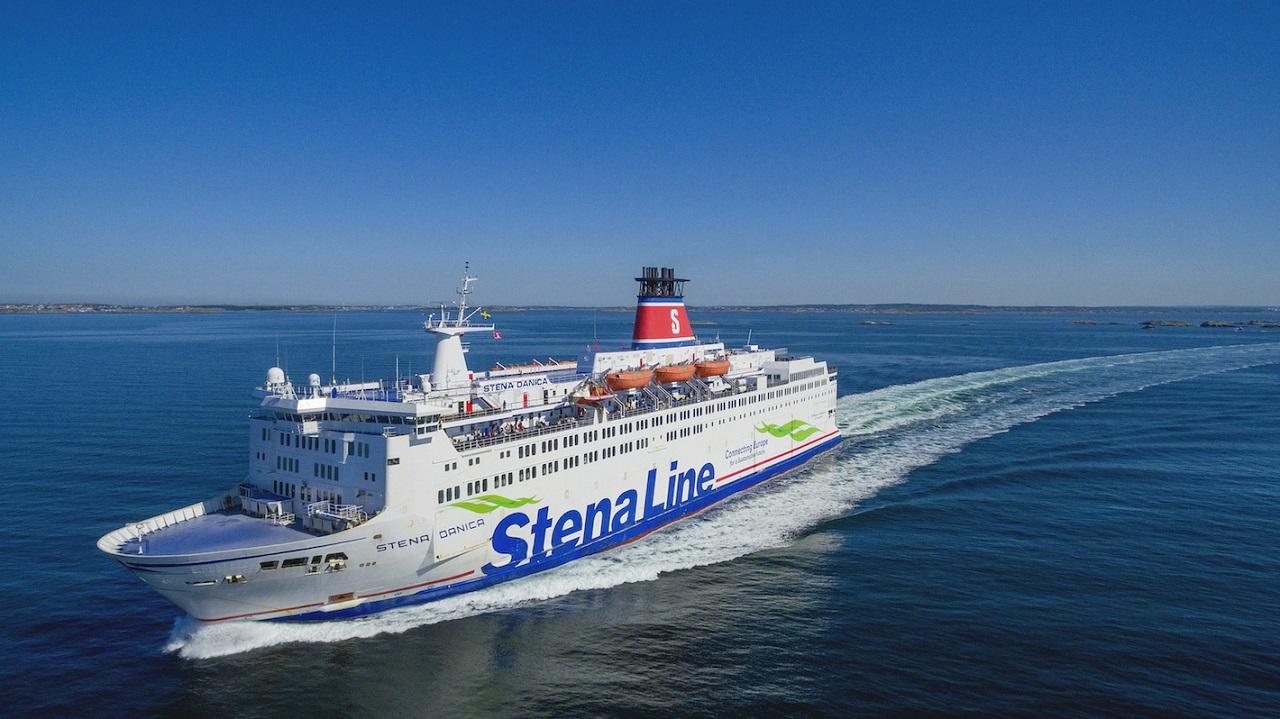 Stena Danica - Ferje - Stena Line - Sverige - Danmark