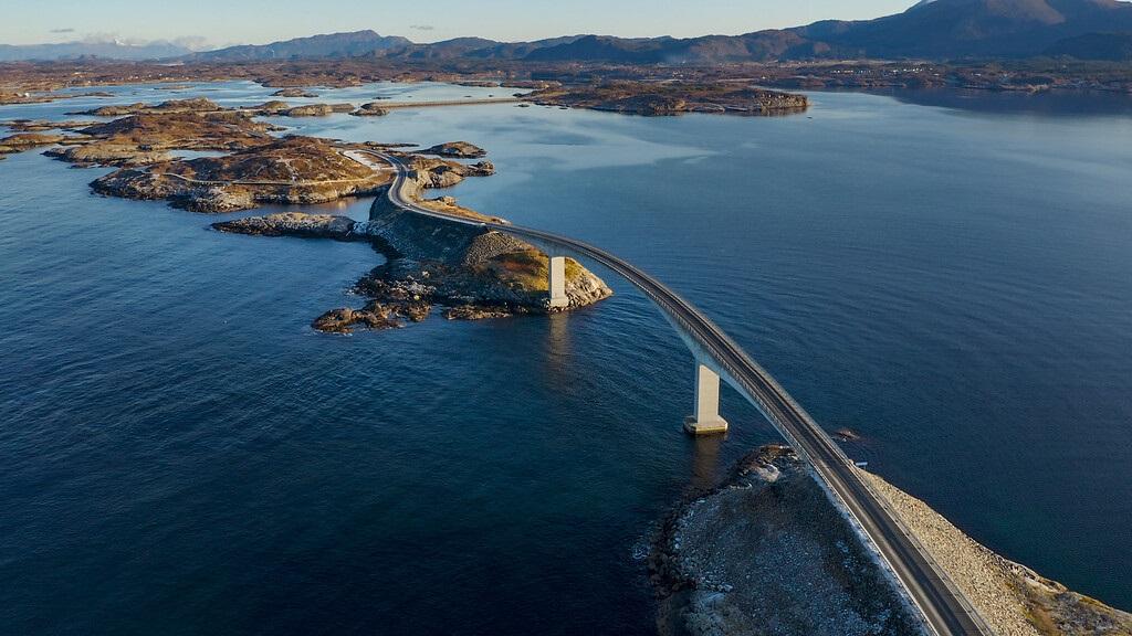 Atlanterhavsveien - Veganlegg - Møre og Romsdal