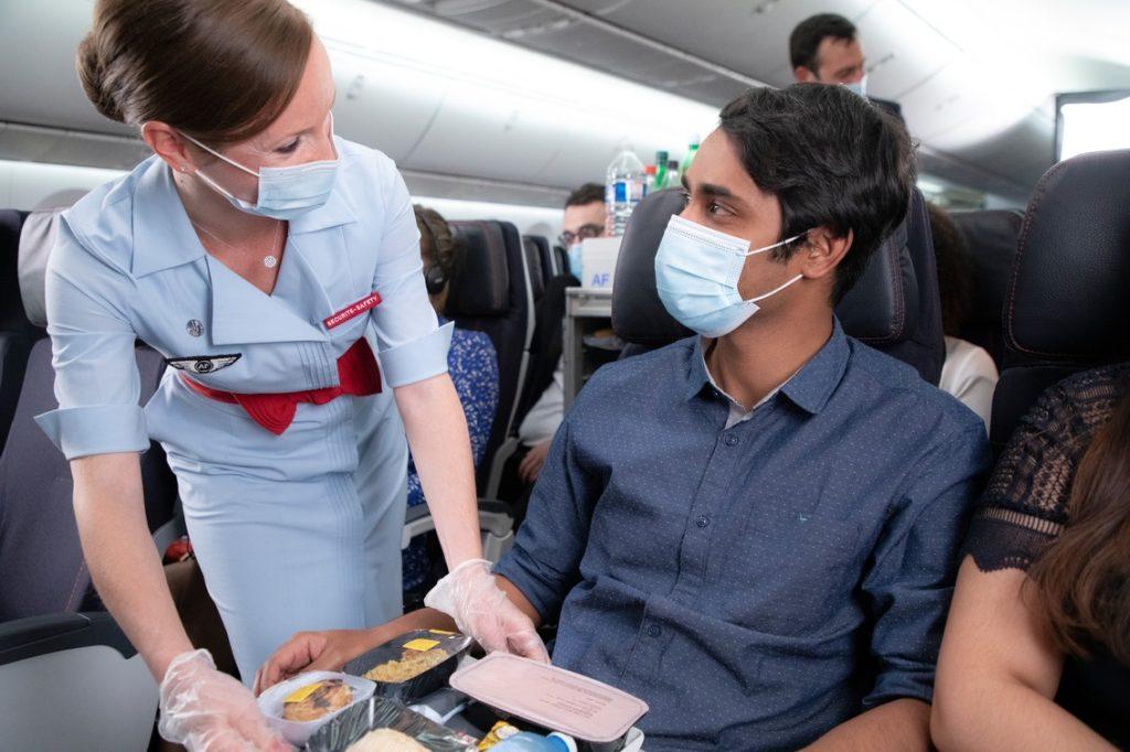 Catering ombord - Air France -Skyteam
