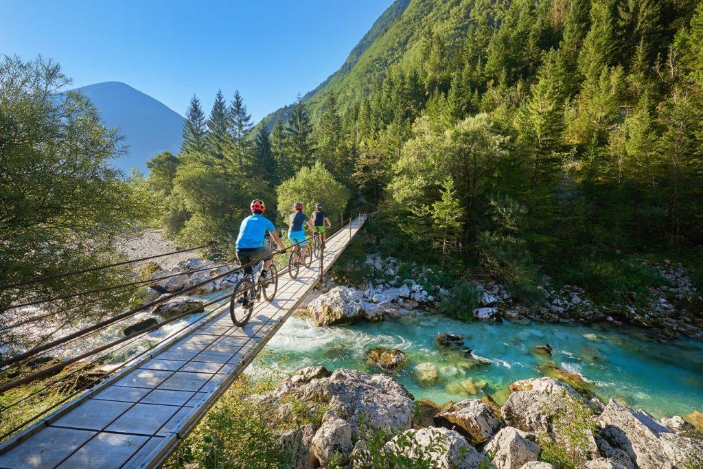 Syklister - Socadalen - Soca valley - Slovenia
