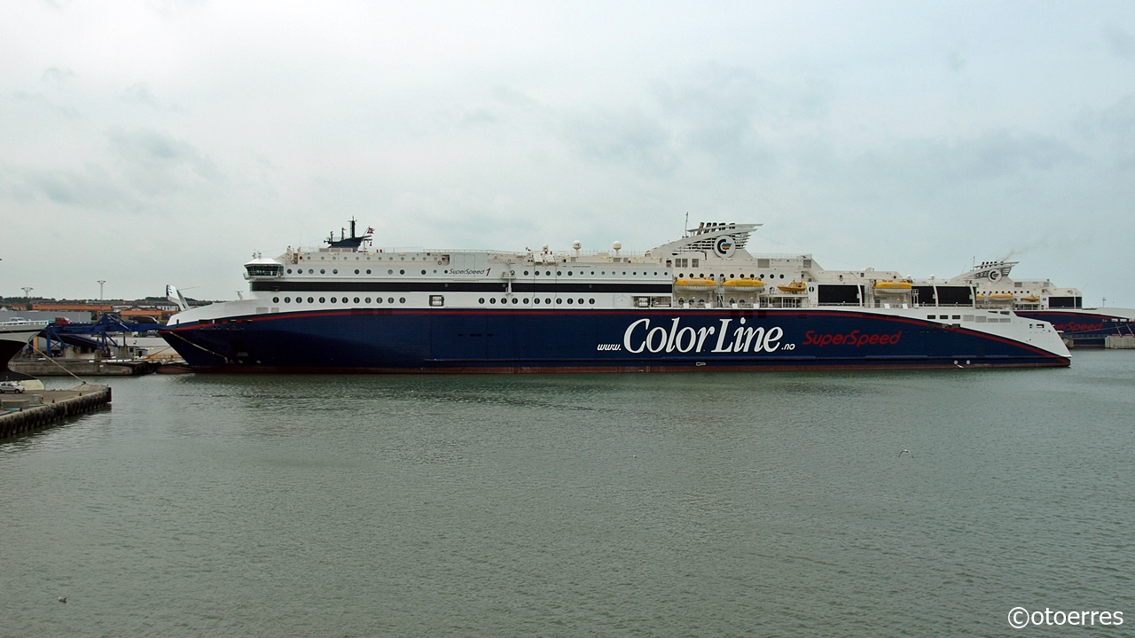 SuperSpeed 1 - Color Line - Hirtshals - Danmark