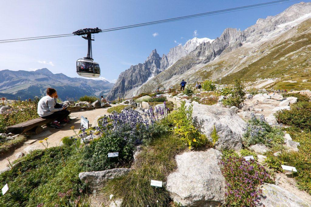 Skiheis- SkyWay- Giardino alpino - Saussurea - Valle d` Aosta - Italia