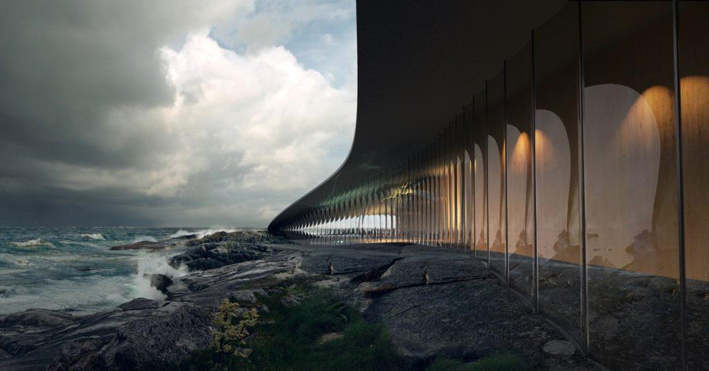 The Whale - Andenes - Arkitekt Dorthe Mandrup