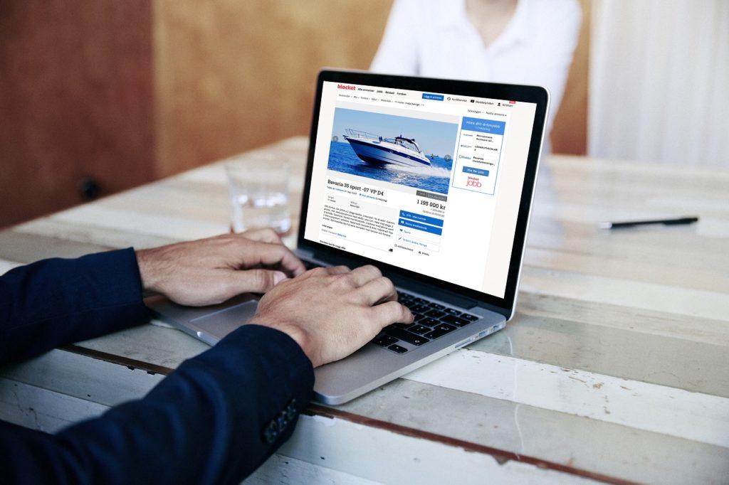 Surfar efter båtar - desktop - Blocket - Sverige