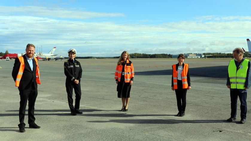 Oslo lufthavn - Gardermoen - Mottak for smittede -2020