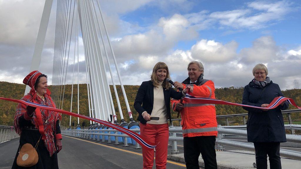 Nye Tana Bru - E6 - Finnmark - Åpning - September 2020