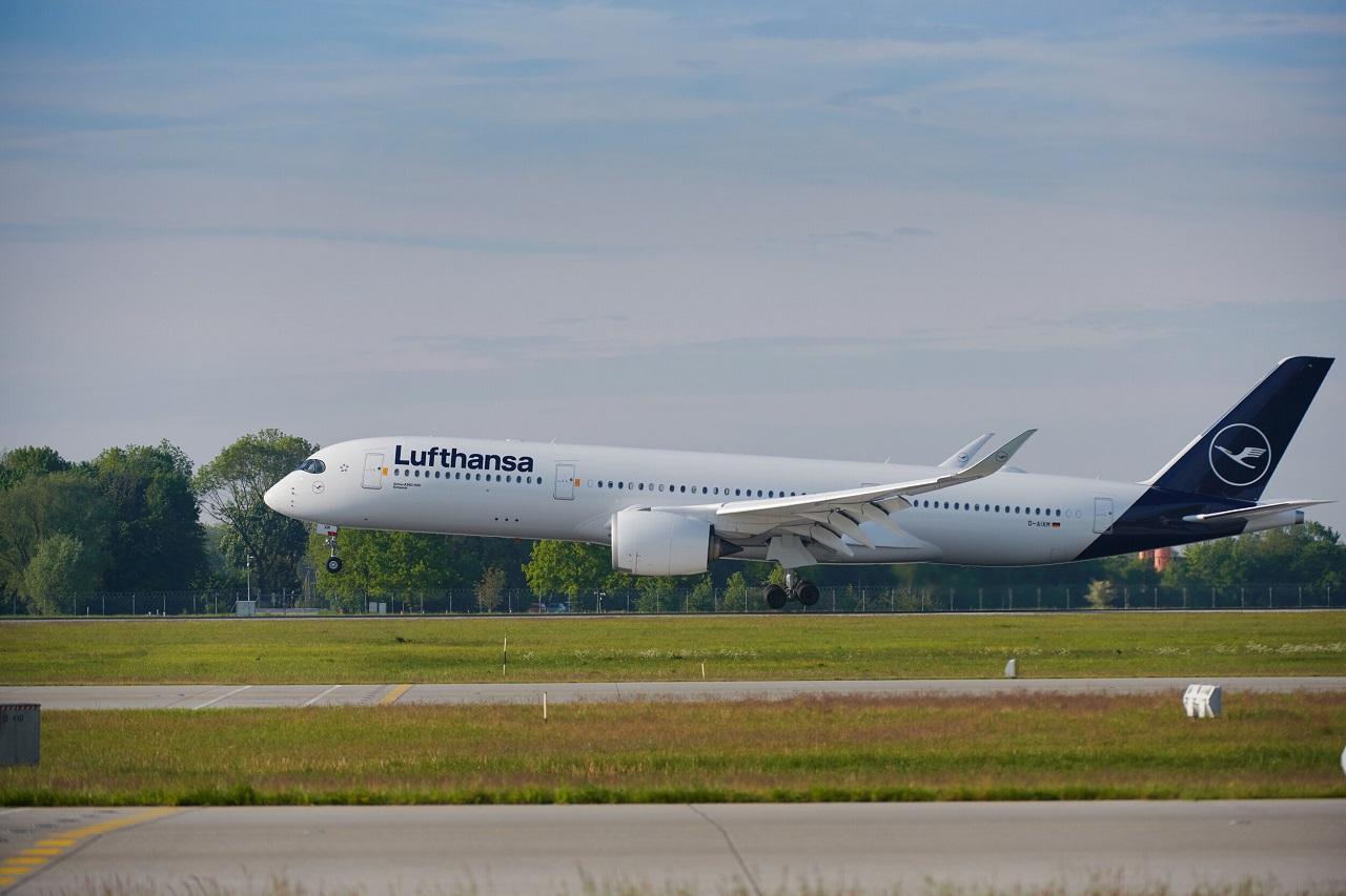 Lufthansa - Airbus A 350-900 XWB- Langdistansefly -