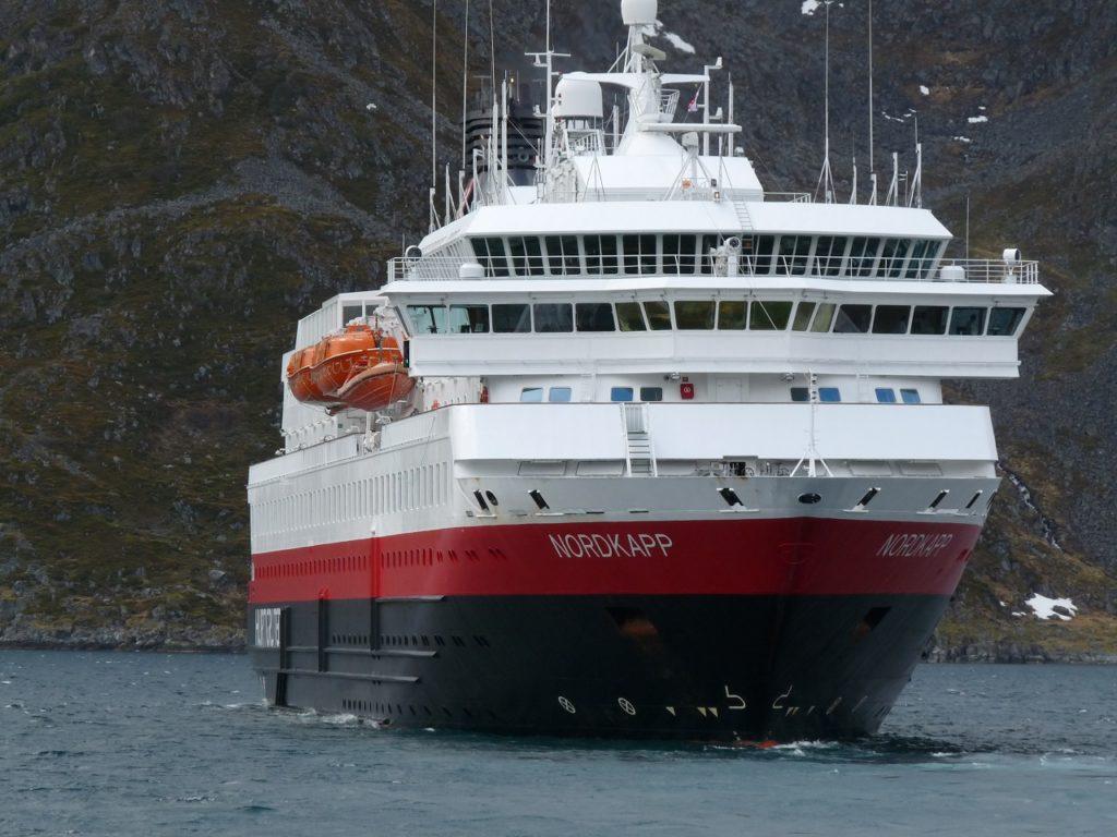 MS Nordkapp - Hurtigruten - Norske Havner - Godsalliansen