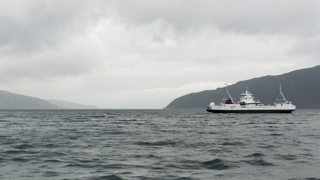 E39, ferge Oppedal - Lavik, Sogn og Fjordane