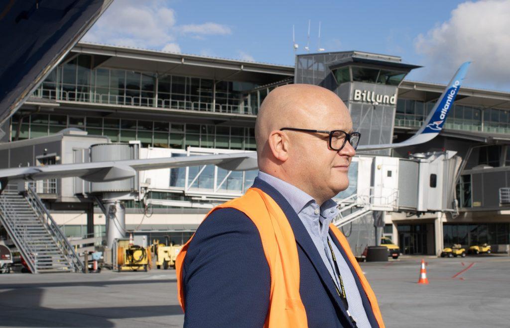 Jan Hessellund - direktør - Billund lufthavn
