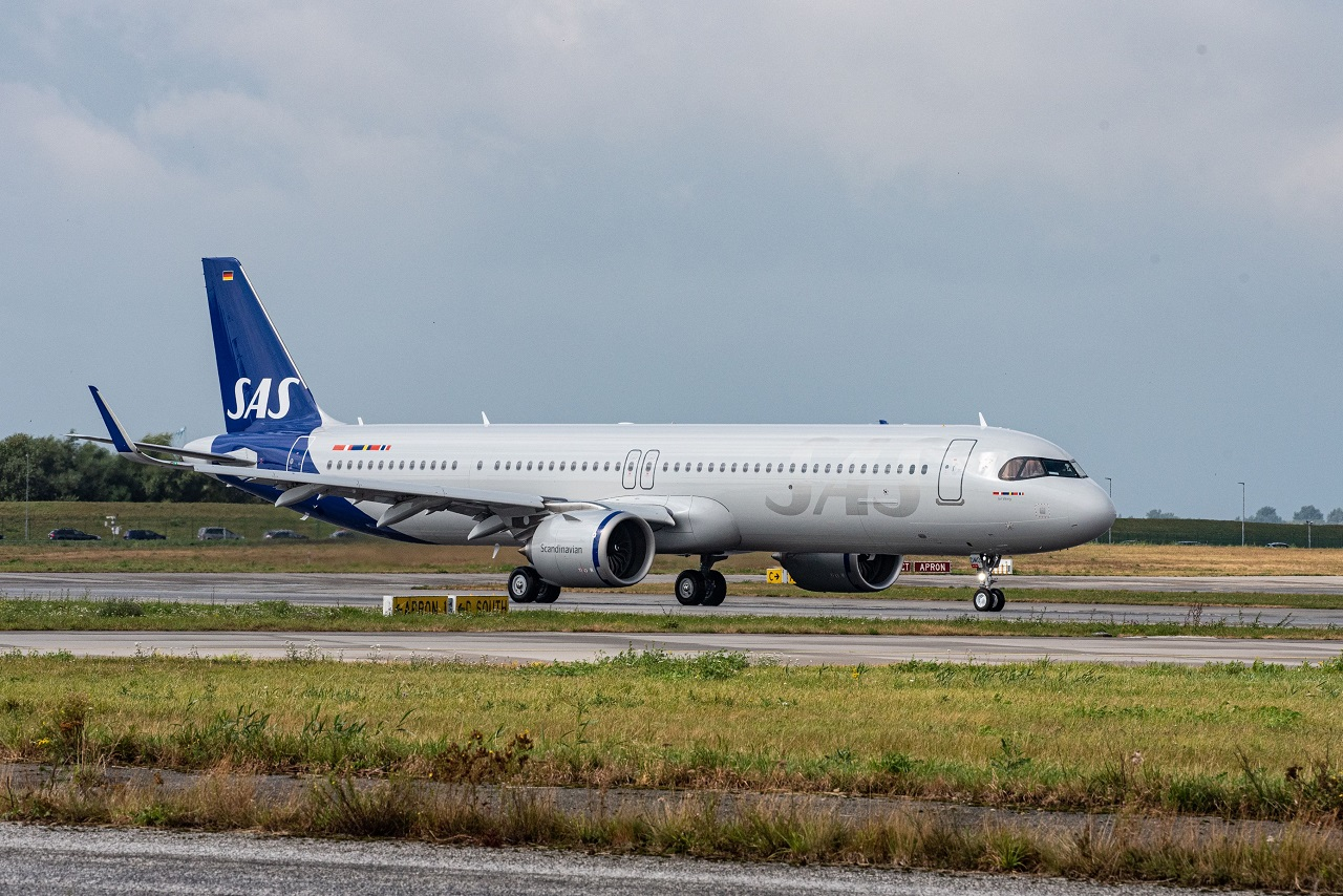 Airbus A321LR - SAS - Scandinavian Airlines