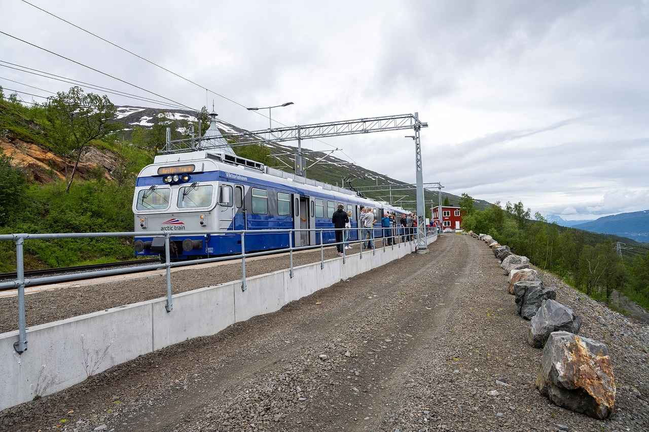 Artic Train - Narvik - Ofotbanen - Kiruna - Flåm AS