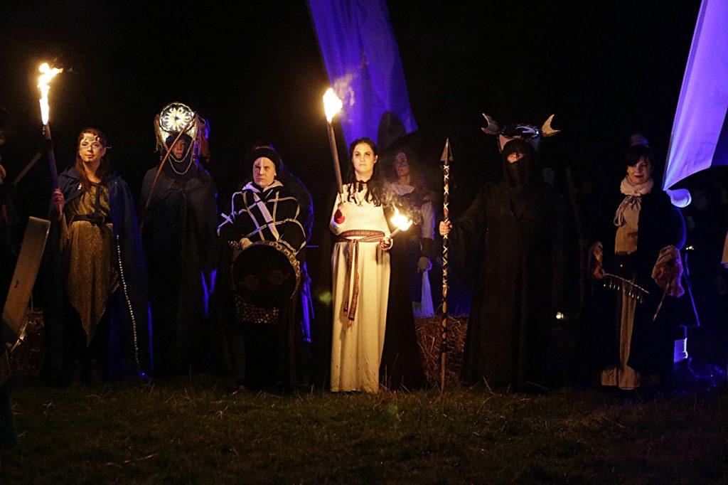 Celtic festival of Samhain - Halloween - Irland