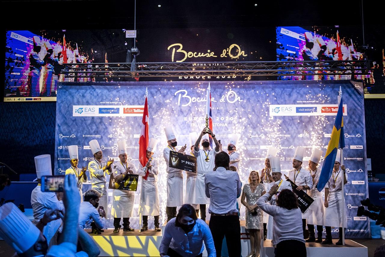 Tallinn - Estland - Bocuse D'or Europe 2020- Pallplassering