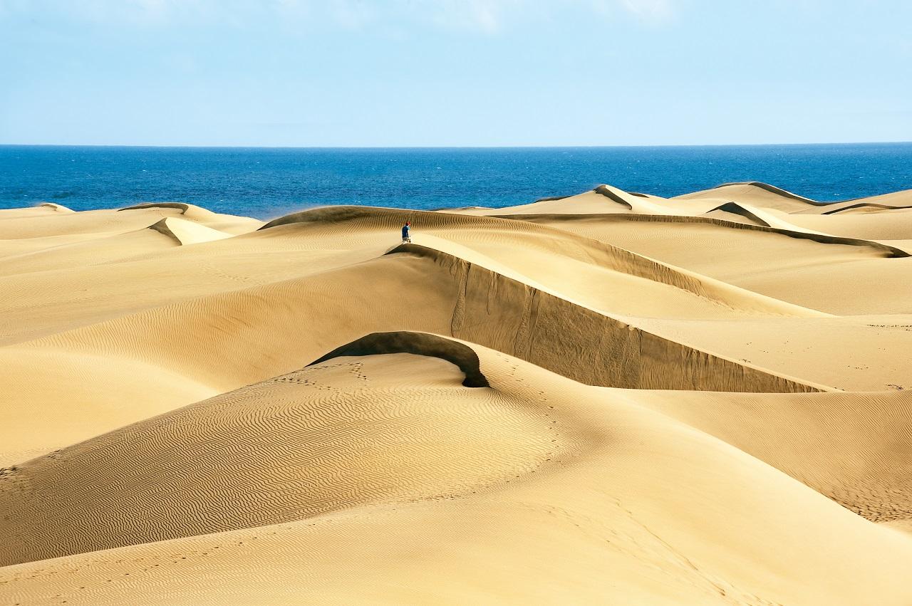 Sanddyner - Dunas - Maspalomas - Gran Canaria - Spania