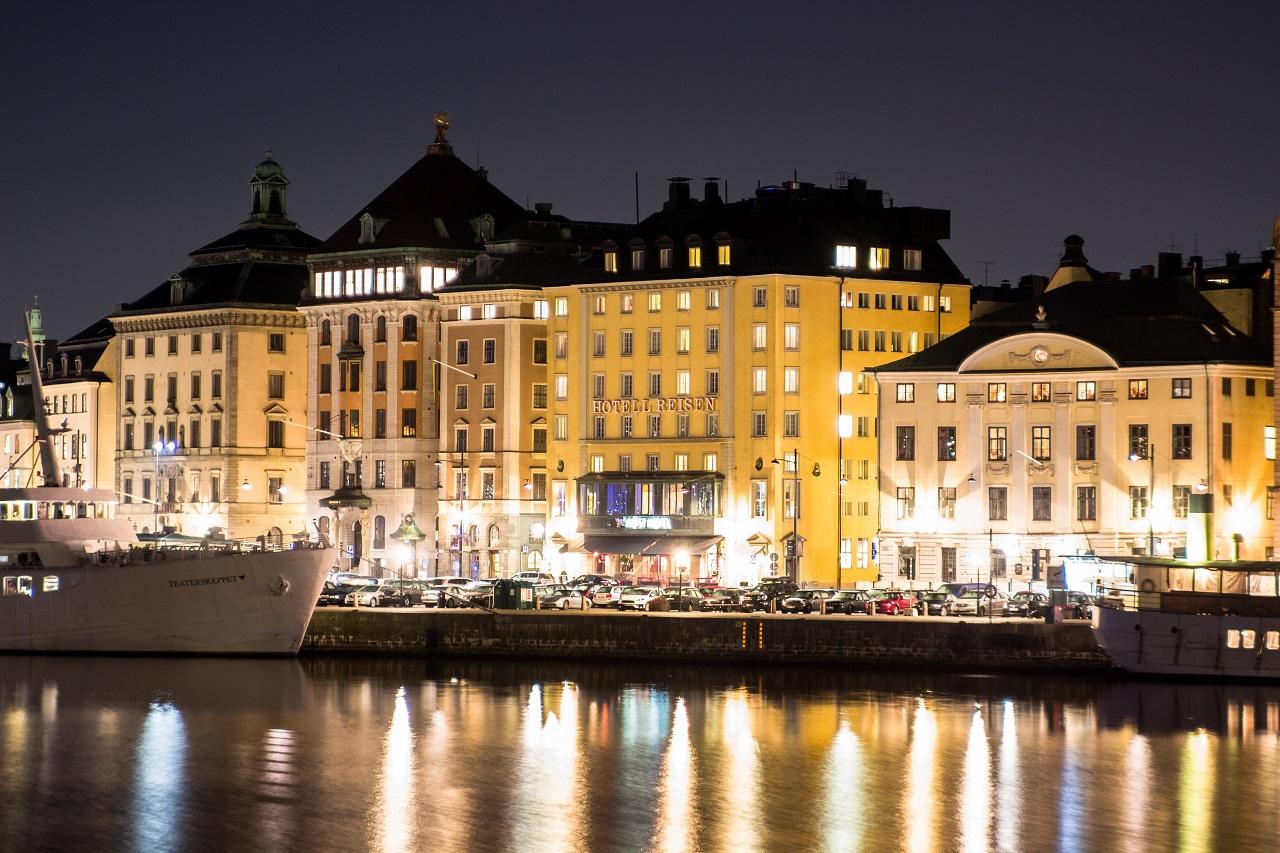 Fasade- Hotell Reisen - Stockholm - Sverige