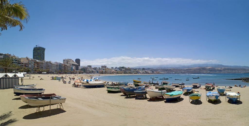 Playa de las Canteras - Las Palmas - Gran Canaria - Spania