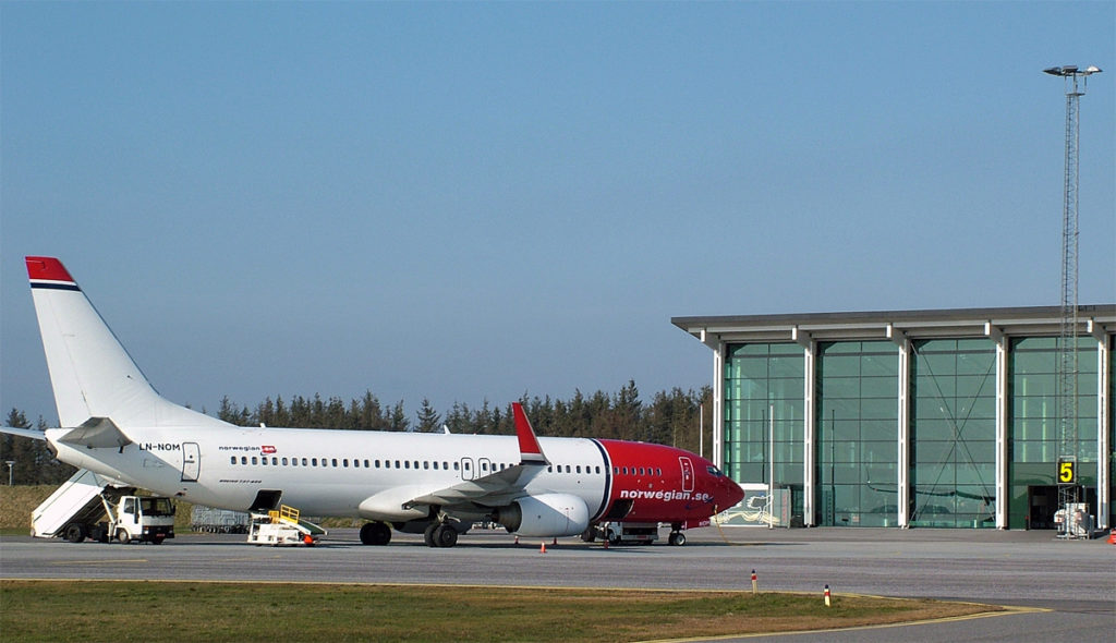 Norwegian - Boeing 737-800 - Aalborg lufthavn - Danmark