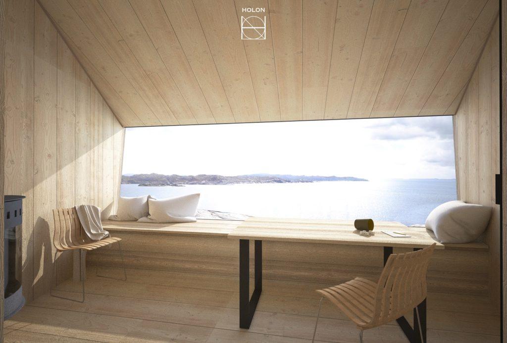 Flokehyttene - Ryvarden - Sveio - Haugesund Turistforening - Holon Arkitektur