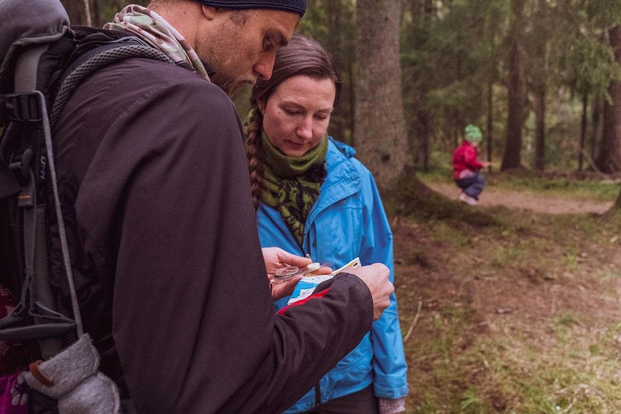 Orientering i Oslomarka - Norsk Friluftsliv