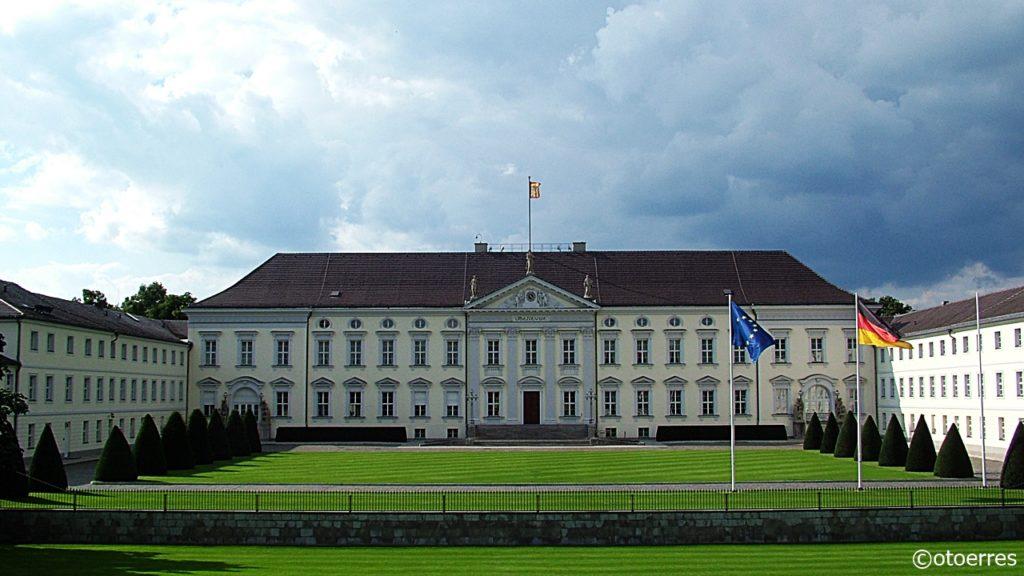 Presidentbolig - Schloss Bellevue -Berlin - Tyskland