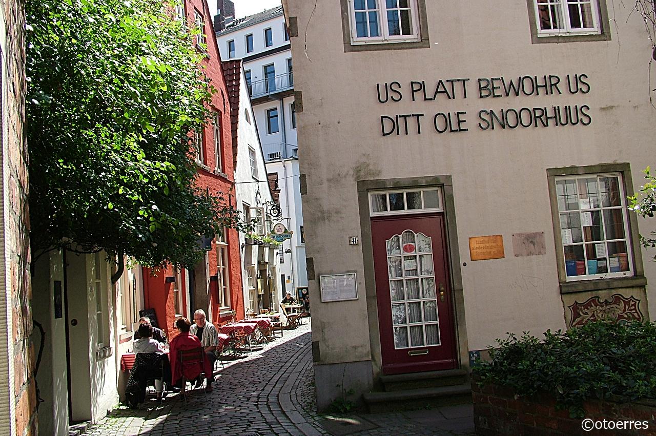 Snoor - Gammel Bydel - Plattysk - Bremen - Tyskland