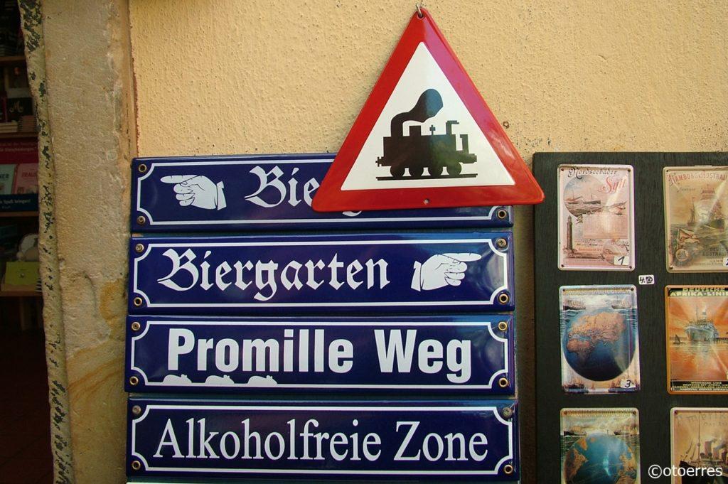 Morroskilter - Trafikkskilt - Bremen - Tyskland