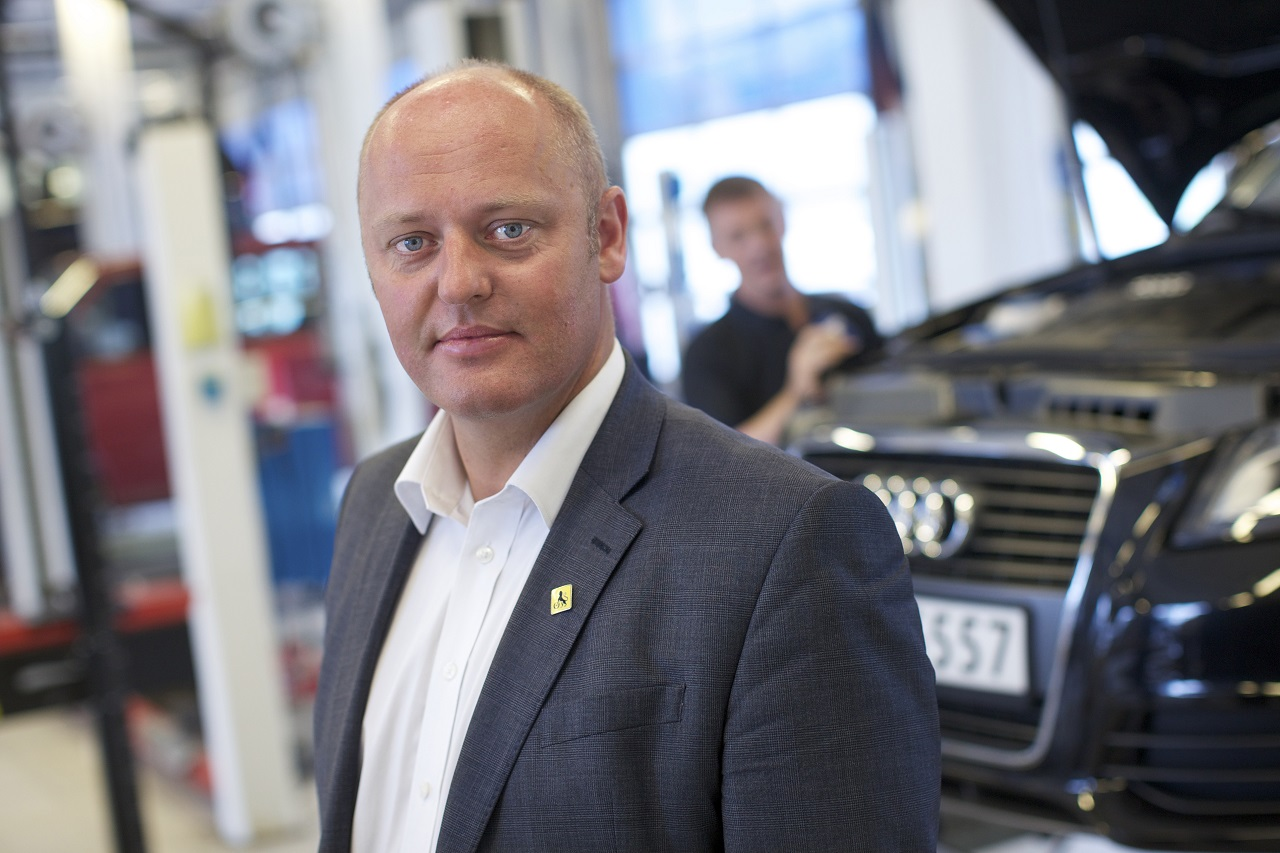 Stig Skjøstad - direktør - NAF - Norges Automobilforbund