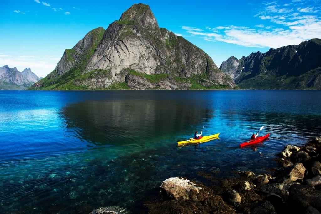 Reine - Lofoten - Merket for bærekraftig reisemål - Innovasjon Norge - 2020