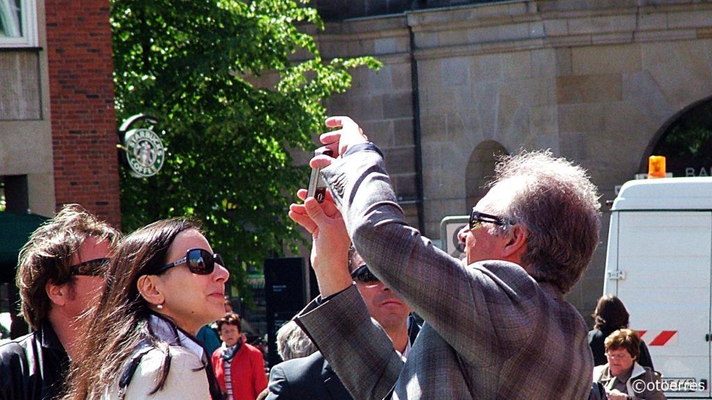 Selfie - Turist - Domkirketorget - Bremen - Tyskland
