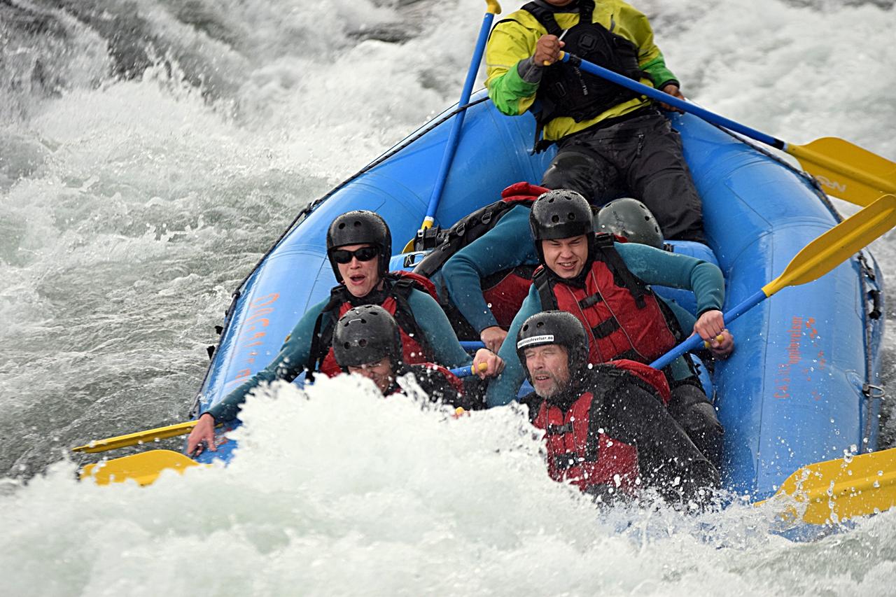 Rafting - Norsk Reiselivsfagskole - Geilo - oktober 2020