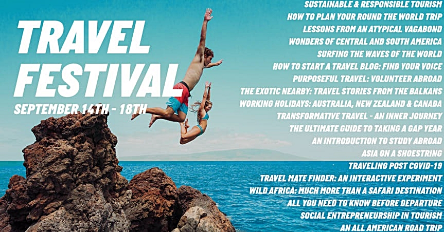 Plakat - Kilroy - Digital Travel Festival - September 2020