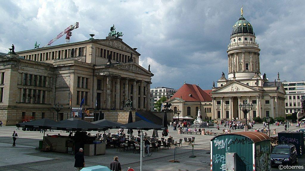 Berlin - Tyskland - Den franske domkirken - Gendarmentmarkt