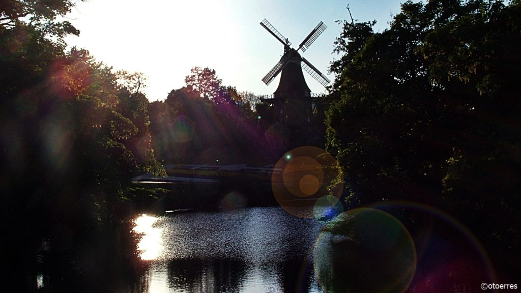 Vindmøllerestaurant - Bremen - Tyskland