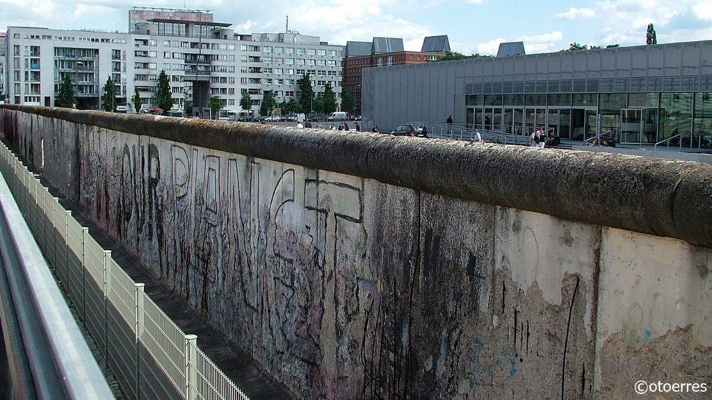 Berlin - Tyskland - Muren - Berlinmuren