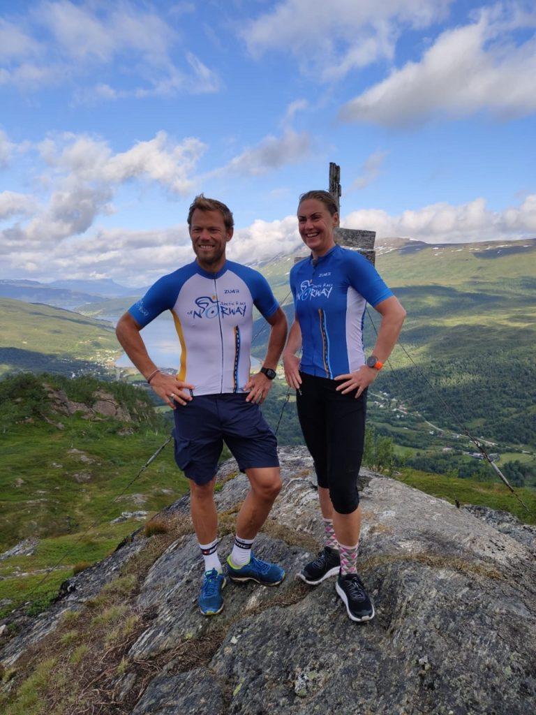 Gunn Rita Dahle Flesjå - Thor Hushovd - Artic Race of Norway