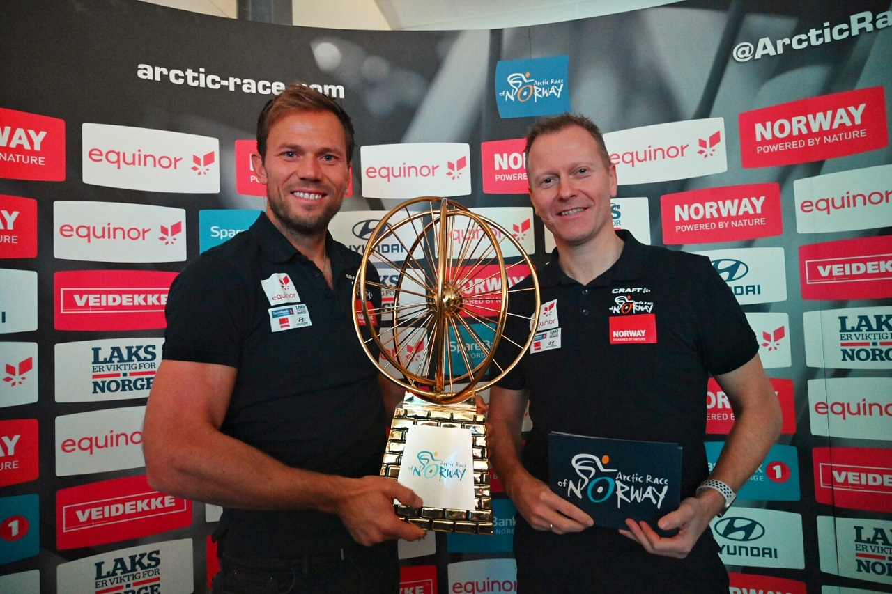 Thor Hushovd - Knut-Eirik Dybdal - Artic Race of Norway - 2021