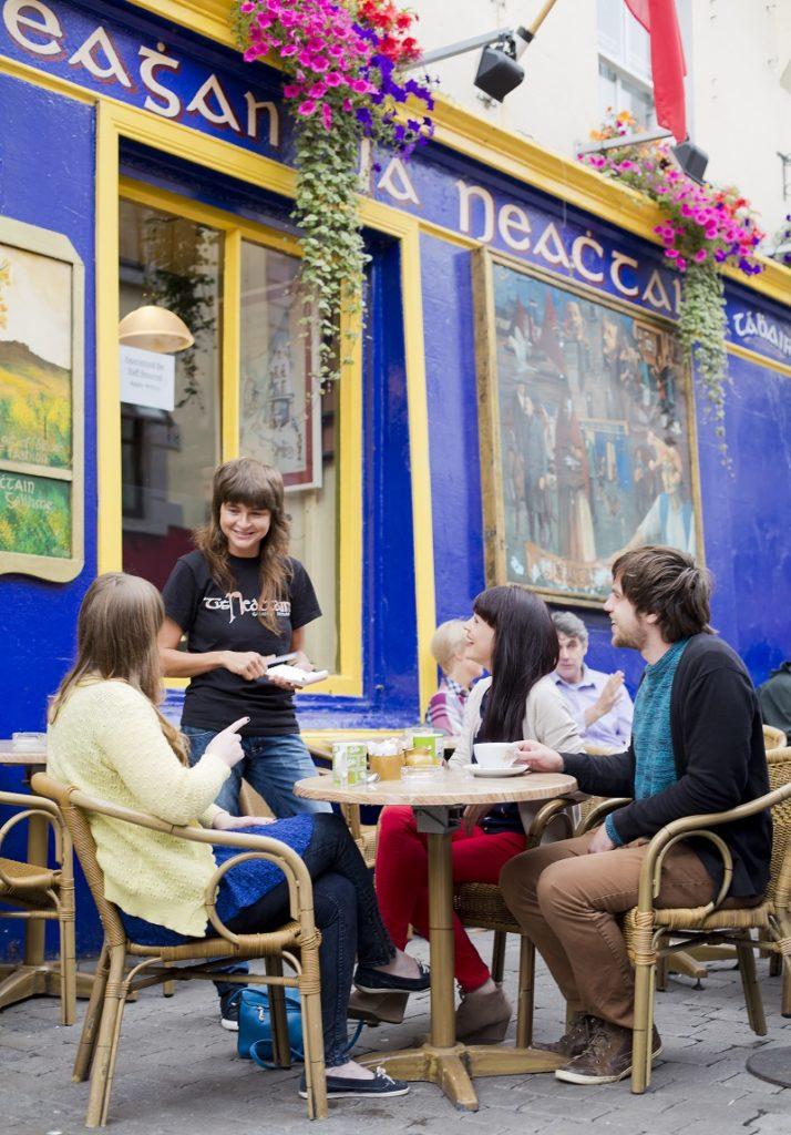 Tigh Neachtain - Pub - serveringssted - Cross Street - Quay Street - Galway - Irland