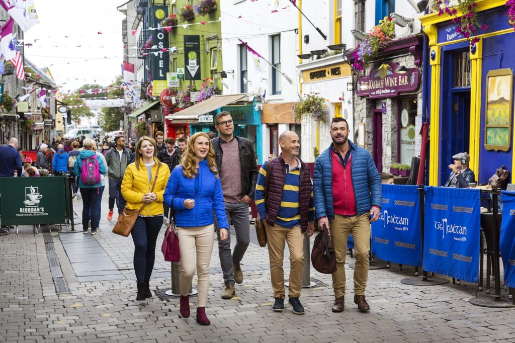 Bytur - gate - pubber - spisesteder - folkeliv - Galway - Irland