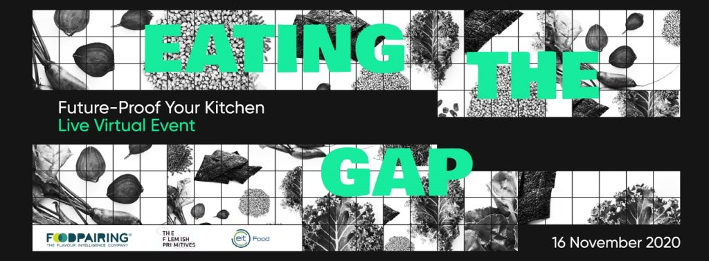 Banner - Eating the Gap - Matsinn - virtuell konferanse - mandag 16. november 2020