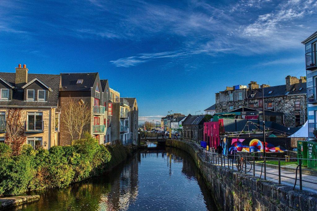 Kanal - Vannvei - Galway City - Irland