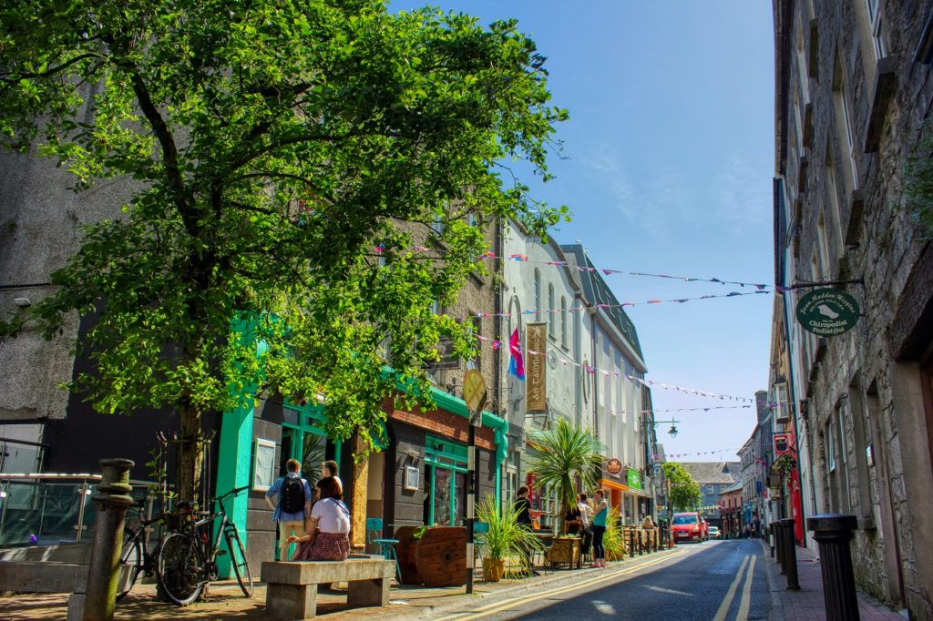 Middle Street - Galway City - Irland