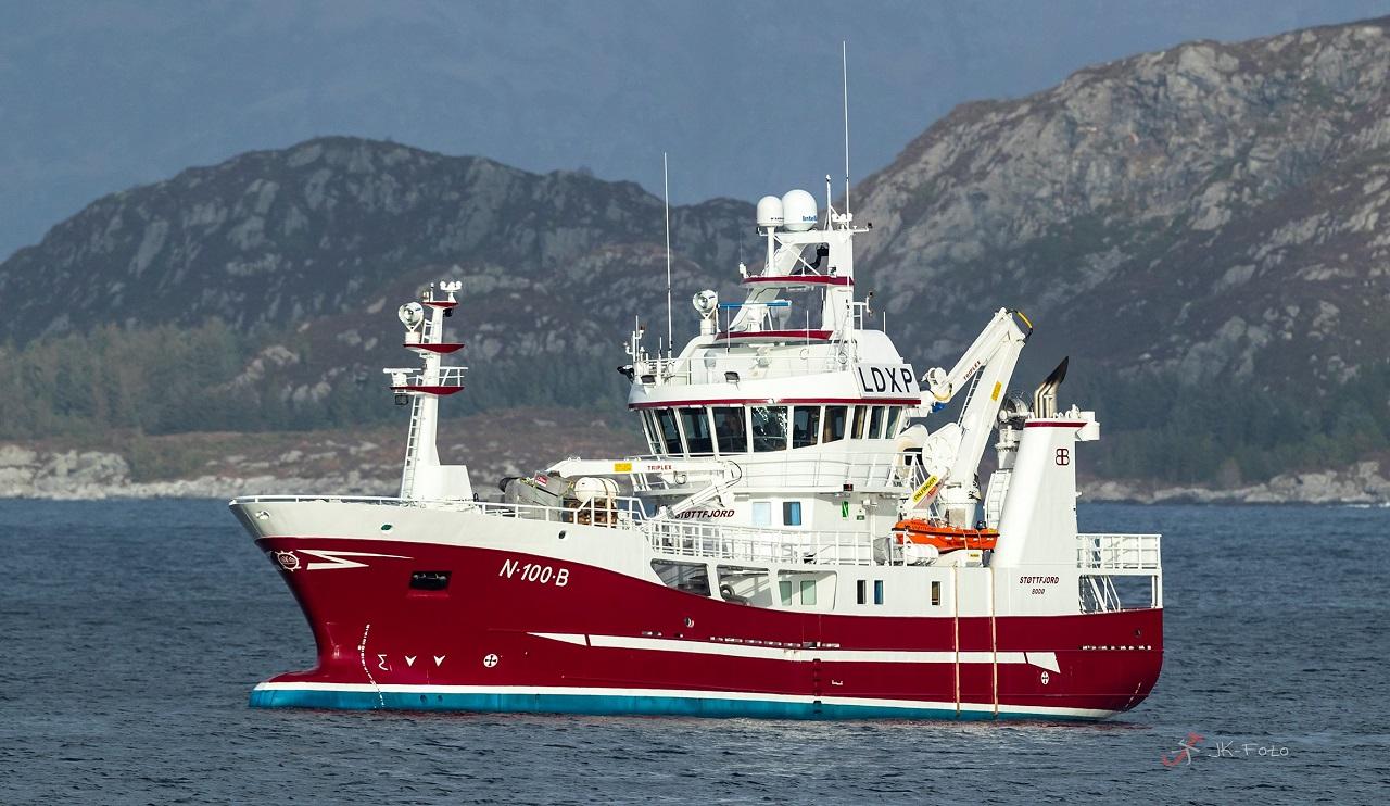 MS Støttfjord - Fiskefartøy - Hybriddrift - Enova