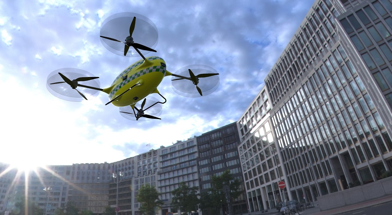Helse Vest - Drone - Airlift Solutions