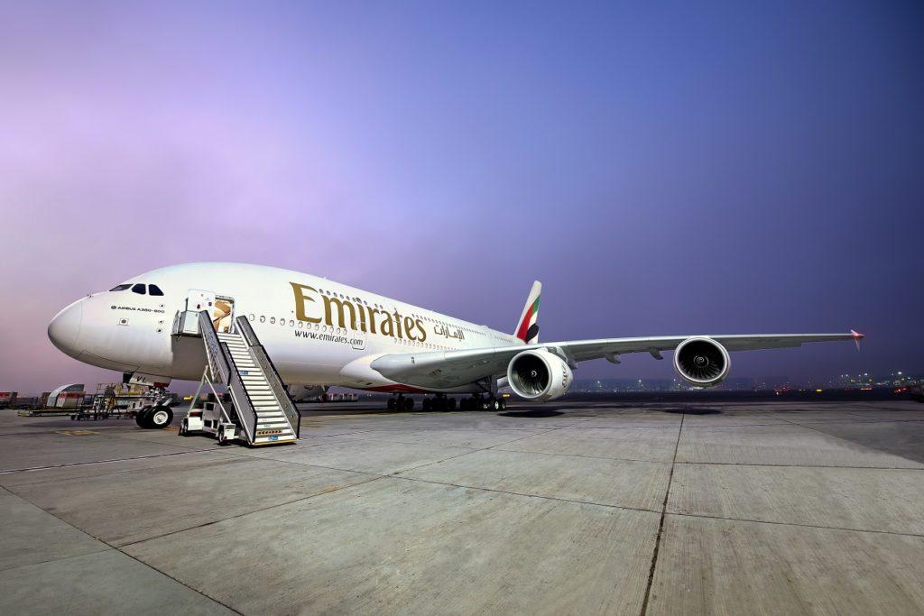 Airbus A 380 - Emirates - Dubai - Desember 2020